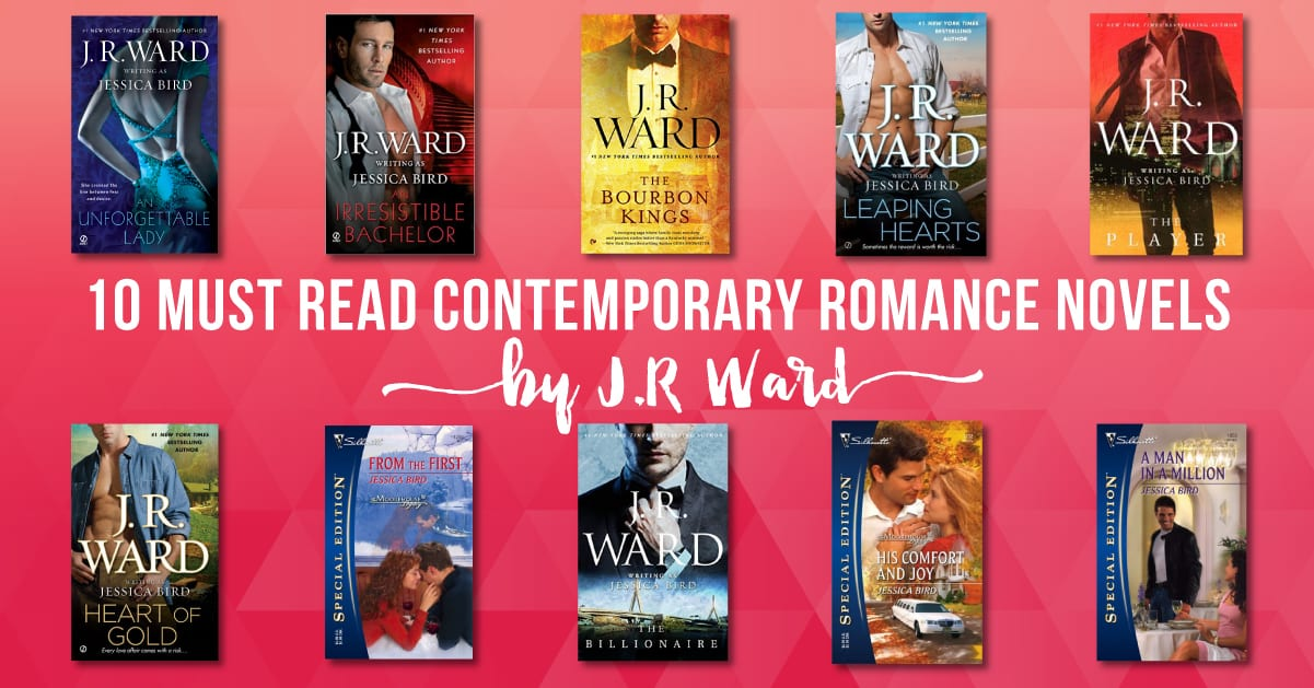 10 MUST Read Contemporary Romance Novels By J.R. Ward