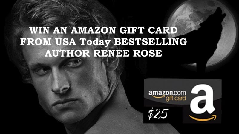 Sign up for this Amazing GIVEAWAY from USA TODAY Bestselling Author Renee Rose