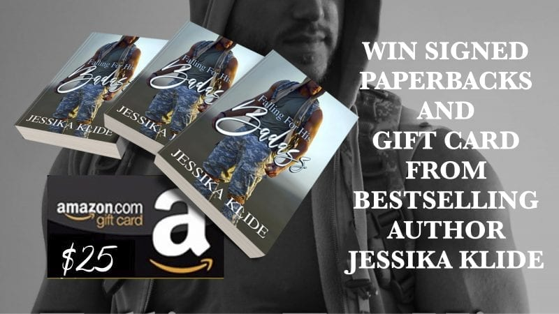Enter to Win Paperbacks and a $25 Gift Card from Bestselling Author Jessika Klide